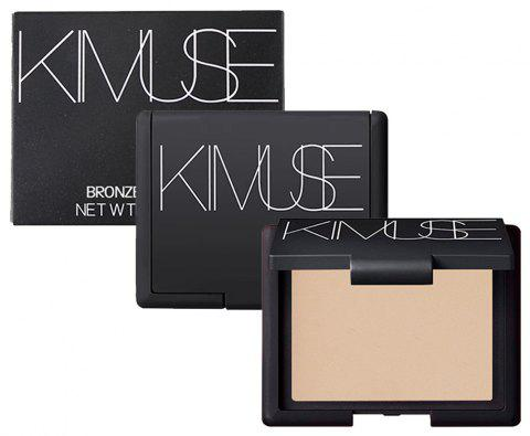 KIMUSE Shimmer Metallic Face Press Powder Palette Contour Durable - 001