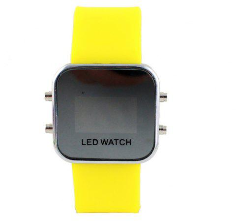 Multicolor Digital LED Display Wrist Watch - multicolor E