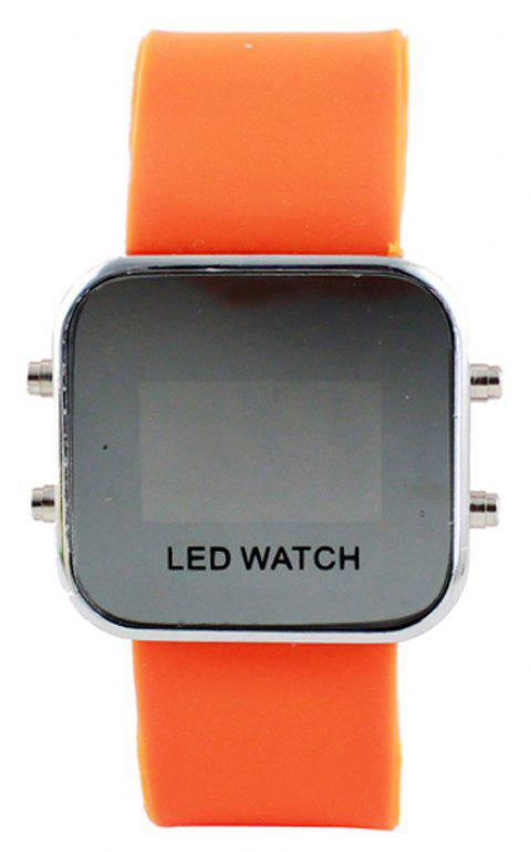 Multicolor Digital LED Display Wrist Watch - multicolor D