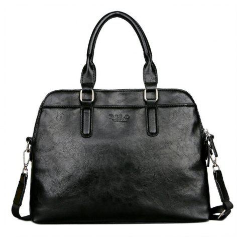 VICUNAPOLO V6622 Fashion Simple and Large Capacity Bag - BLACK