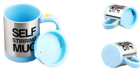 Electric Mug Automatic Mixing Coffee Cup - LIGHT BLUE