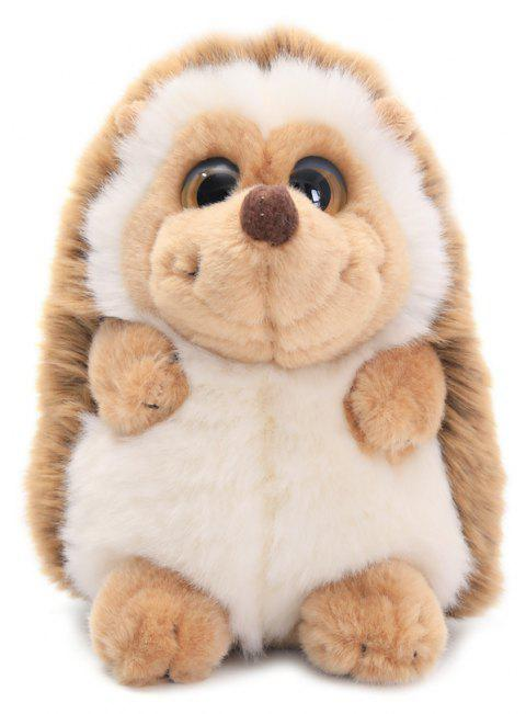 7 Inch Sedentray Hedgehog Stuffed Animal Soft Toy Gift Children - TAN