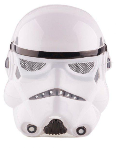 YEDUO Star Wars Darth Vader Halloween Mask Party Supply Costume Toy - WHITE
