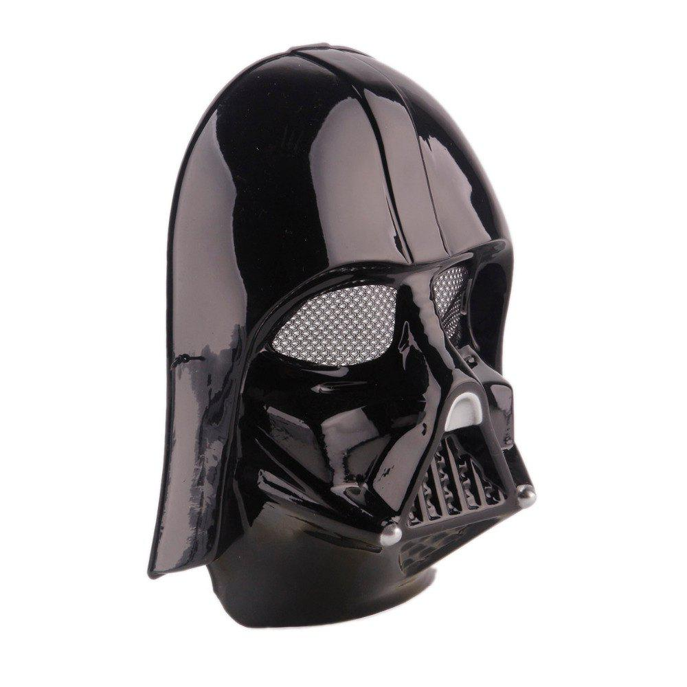 YEDUO Star Wars Darth Vader Halloween Masque Partie Fourniture Costume Jouet - Noir