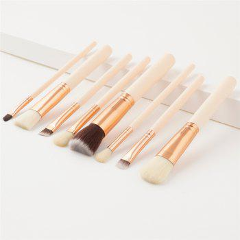 8PCS Eyebrow Powder Concealer Cosmetic Make Up Tool - GOLD