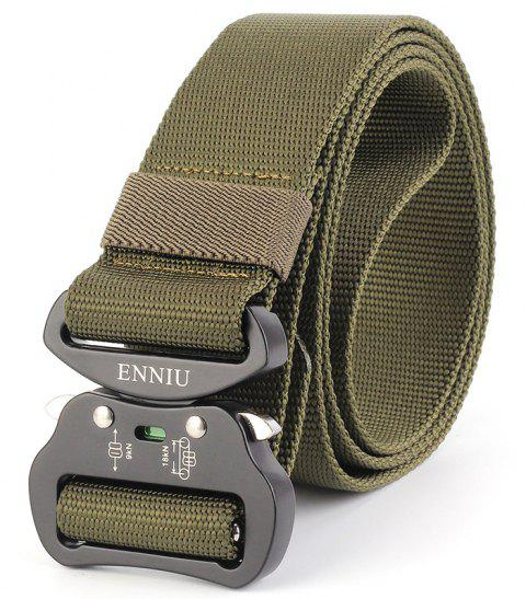ENNIU4.3 Nylon Special Forces Multi-Functional Military Training Outdoor Belt - FERN GREEN
