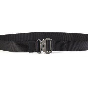 ENNIU4.3 Nylon Special Forces Multi-Functional Military Training Outdoor Belt - BLACK