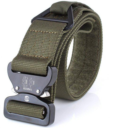 ENNIU Outdoor Military Training Rescue Rappelling Safety Nylon Belt - ARMY GREEN