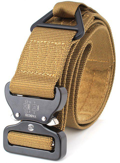 ENNIU Outdoor Military Training Rescue Rappelling Safety Nylon Belt - CARAMEL