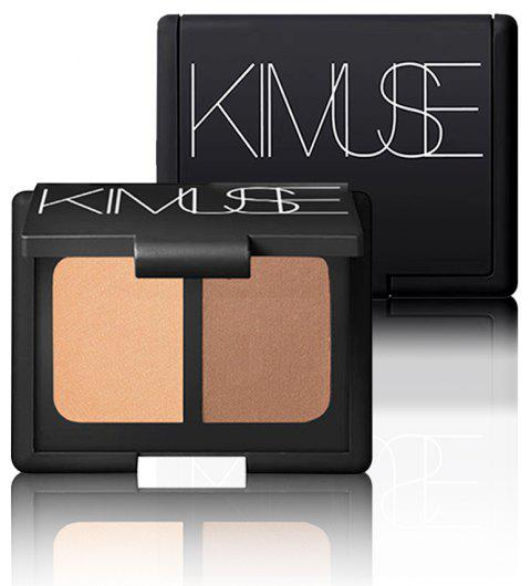 KIMUSE Brand Highlighter Makeup Baked Shimmer Single Powder Bronzer - 001