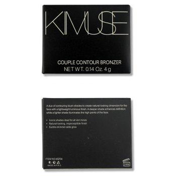 KIMUSE Brand Highlighter Makeup Baked Shimmer Single Powder Bronzer -