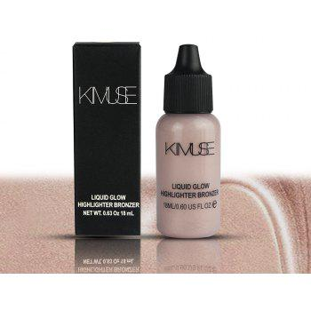KIMUSE Face Makeup Box Shimmer Primer Ultra-Concentrated Illuminating Bronzing -