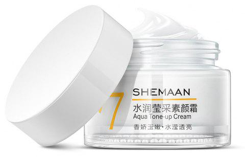 SHEMAAN V7 Crème tonique hydratante Lazy Face Cream 50g - Blanc