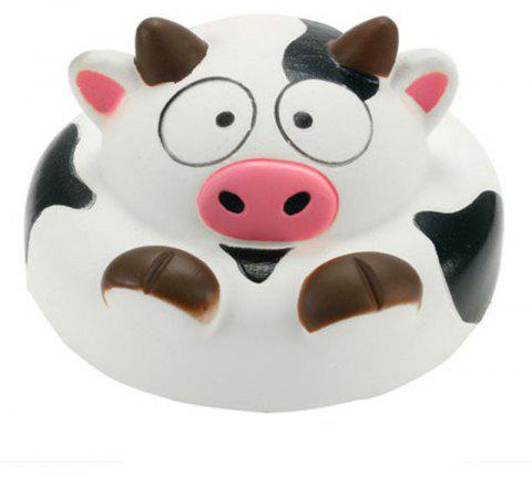 Jumbo Squishy Cow Slow Rising Animal Collection Gift Decor Toy - WHITE