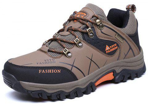 Hiking  Waterproof Outdoor Trail Sport  Men's Trekking Shoes - BROWN EU 41