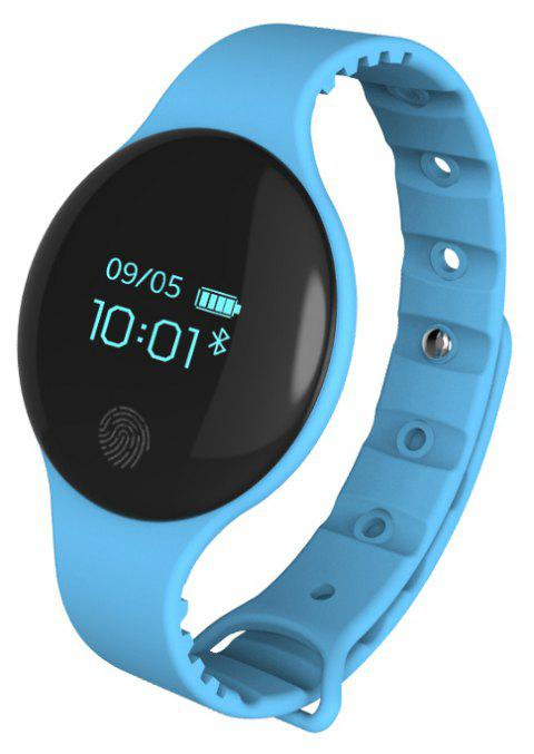 DZ Unisex Touch-screen Multi-function Smart Watch Step Sleep Monitoring - CRYSTAL BLUE