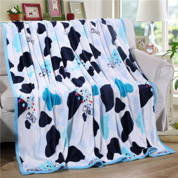 Household Comfort Ferret Blanket Crazy Cow - multicolor W70 X L79 INCH