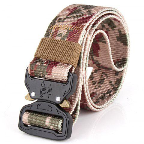 ENNIU Tactical Camouflage Nylon Military Training Outdoor Belt - DIGITAL DESERT CAMOUFLAGE