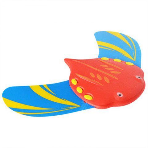 Swimming Diving Fish Underwater Pool Toy - RED
