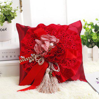 Bamboo Charcoal Bag Car Decoration Household Home Decoration - RED 20*20*8CM