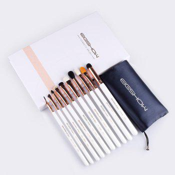 10 PCS EYE BRUSH KIT Eye Makeup Brushes EIGSHOW - ROSE GOLD