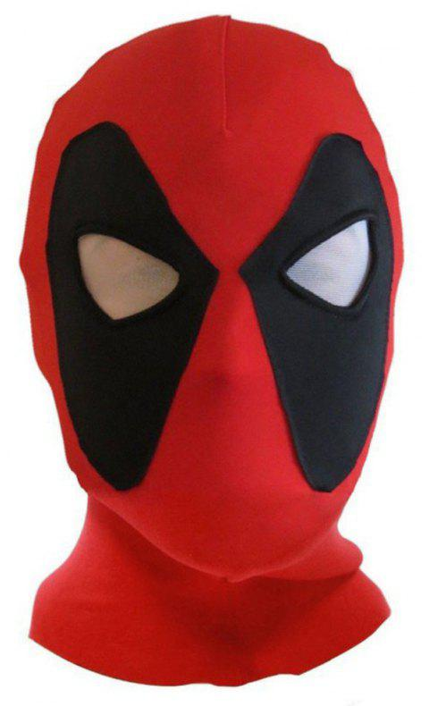 Halloween Cosplay Costume Party Face Mask - RED