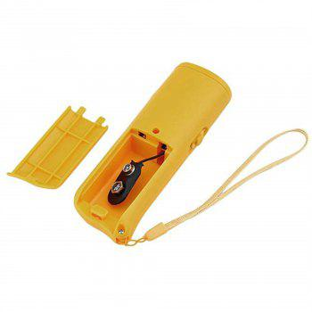 3 in 1 Anti Barking Stop Bark Device Dog Training Repeller Control LED - YELLOW