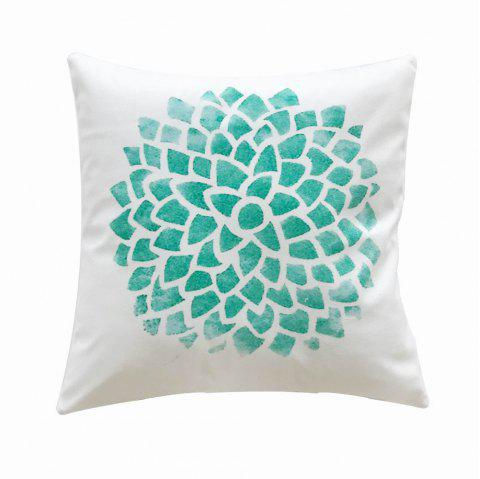 PC044 Green Plant Bedroom Pillow Case - multicolor 45X45CM