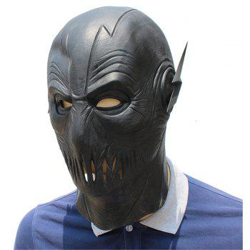 Halloween Cosplay Party Prop Latex Head Mask for Funny Ball Party Show - BLACK
