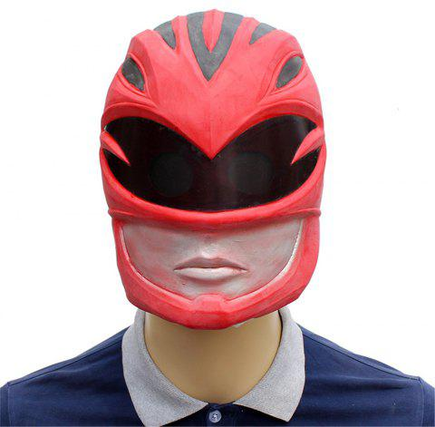 Halloween Cosplay Prop Dinosaur Team Masque Tête En Latex - multicolor