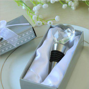 Gift Box for Red Wine Bottle Stopper - TRANSPARENT 13.5*7.8*4.8CM