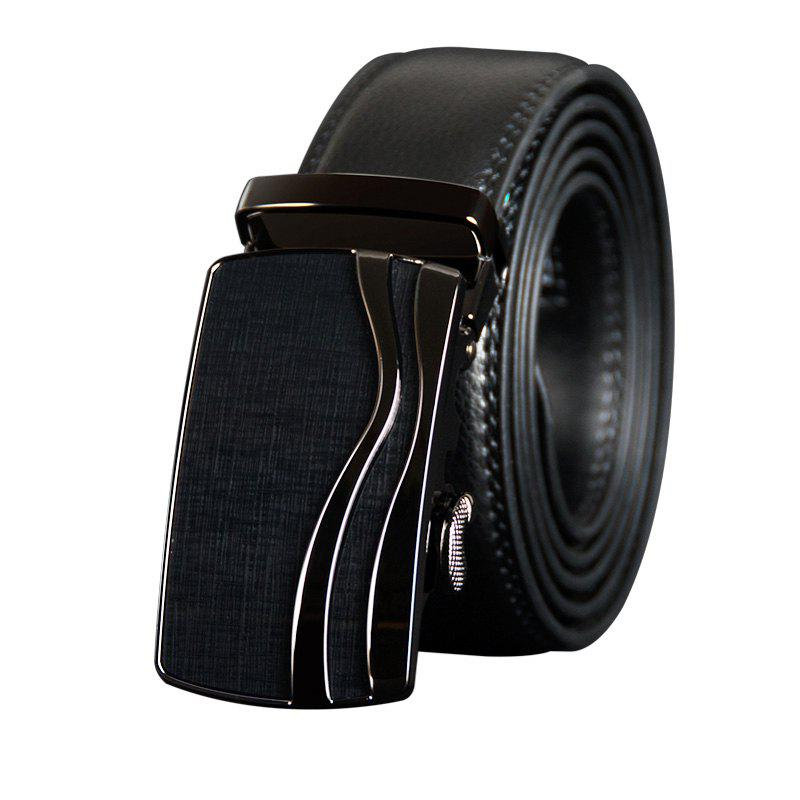 COWATHER CZ123 Leather Automatic Buckle Casual Fashion Business Belt