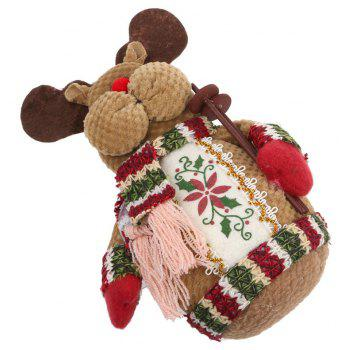 Lovely Doll Snowman Christmas Gift Toy - multicolor A