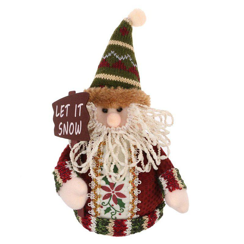 Lovely Doll Snowman Christmas Gift Toy - multicolor B