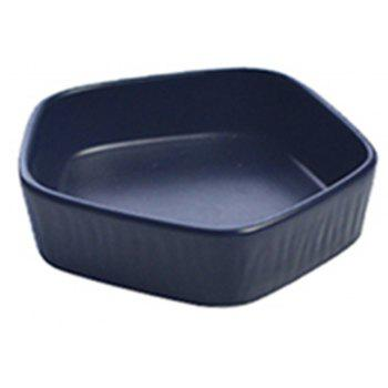 Northern Europe Originality Household Saucer Kitchen Multi-function Tableware - DARK SLATE BLUE L
