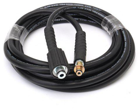 UK 5M 2300PSI/160BAR High Pressure Replacement Pipe Hose for Karcher K2 Cleaner - JET BLACK 1PC