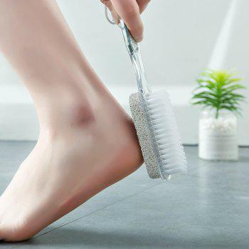 DIHE PP Four in One Domestic Foot Rubbing Brush - multicolor