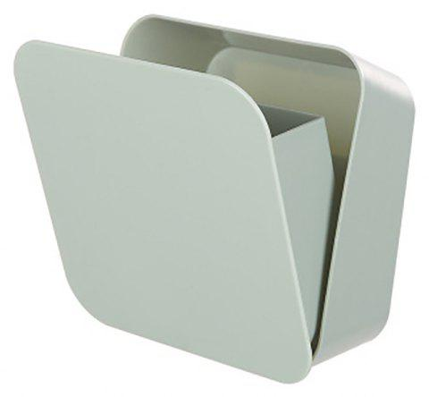 DIHE Hidden Wall-Mounted Conceal Multifunction Storage Box - LIGHT CYAN