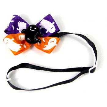 Pets Tie Halloween Decoration Necktie - multicolor
