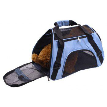 Portable Pet Folding Crossbody Bag - SKY BLUE M