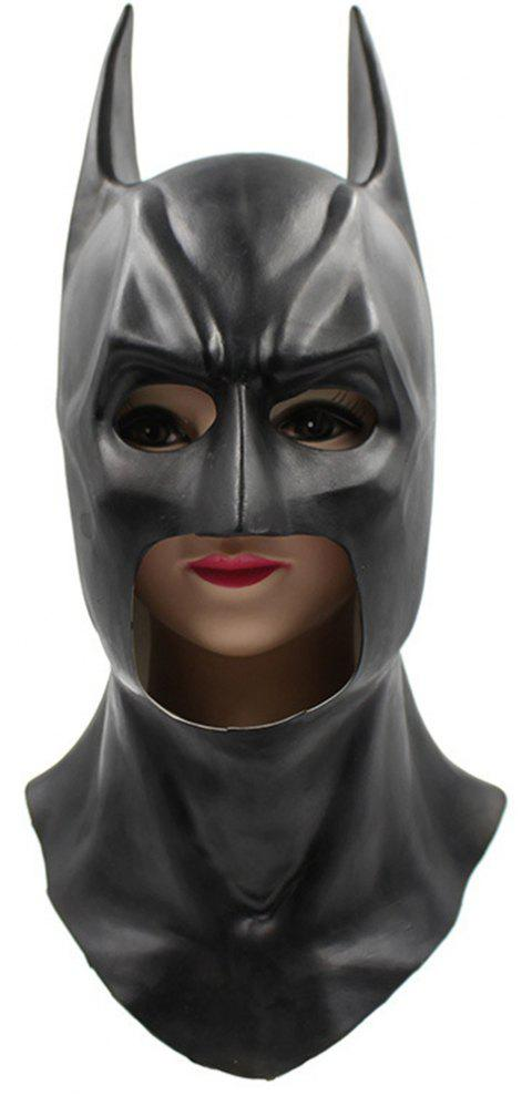 Halloween Cosplay Prop Batman Mask for Funny Ball Party Show - BLACK