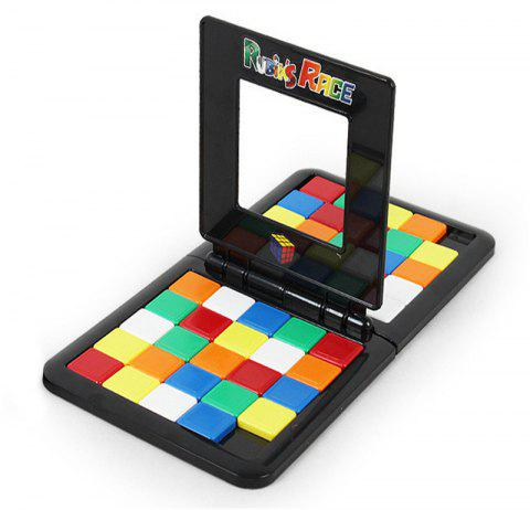 Children Early Education Interaction Against Competition Color Cube - multicolor