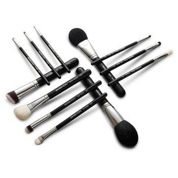 12 PCS CLASSIC BRUSH KIT - BLACK