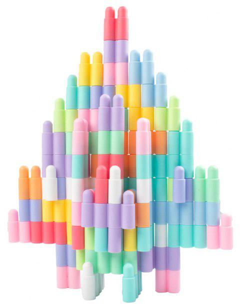 Happy Maty LY-Z1012 Makaron Colors Creative Bullets Building Blocks 192 Pieces - multicolor