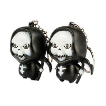 Ghost Reaper LED Porte-clés lumineux Halloween - multicolor A