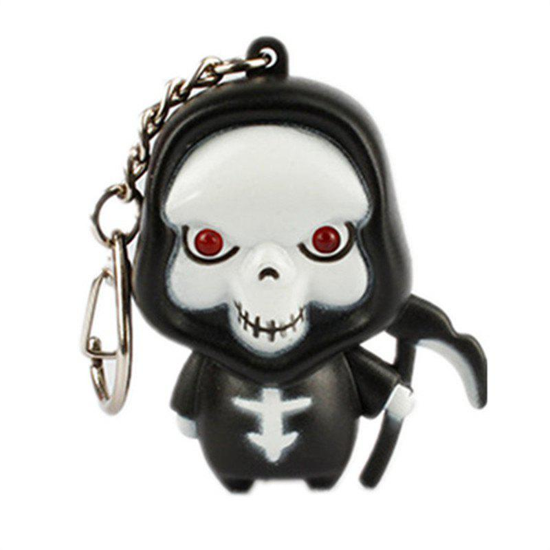 Ghost Reaper LED Porte-clés lumineux Halloween - multicolor B