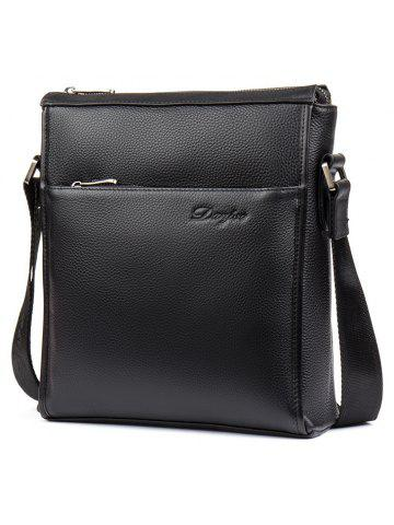 f9d443084558 DANJUE New Arrival Men Genuine Leather Casual Shoulder Messenger Bag