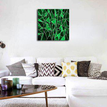 Frame Canvas Hotel Clubhouse Background Wall Abstract Print - multicolor 40CMX40CM