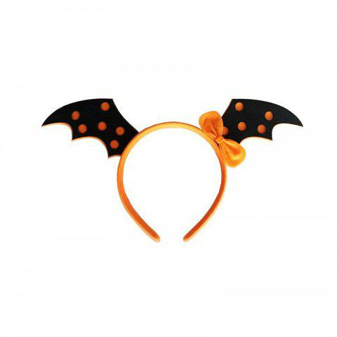Halloween Party Makeup Hair Novelty Hoop Headpiece Accessories Costume - JET BLACK