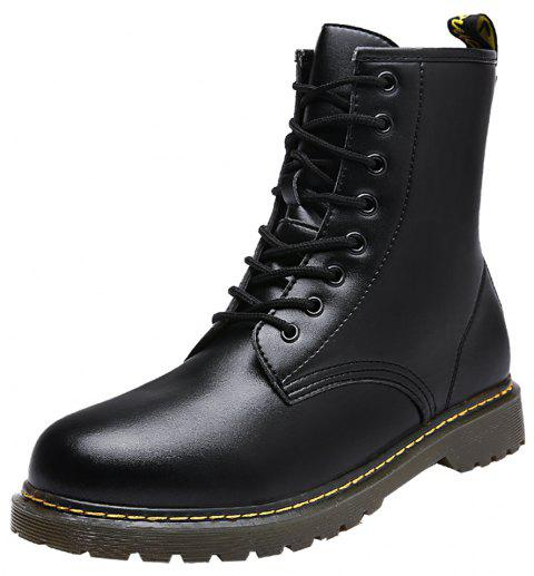 Men High-cut Boots - BLACK EU 44